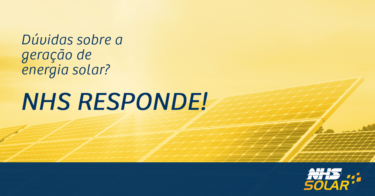 NHS Responde: 5 Dúvidas Sobre Energia Solar