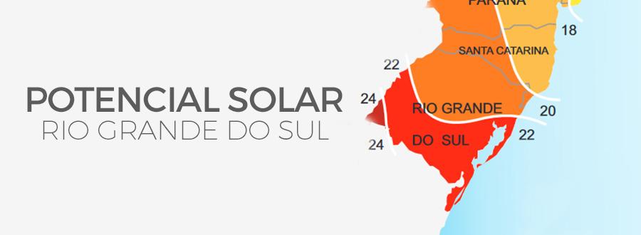 Geração De Energia Atlas Solarimétrico RS